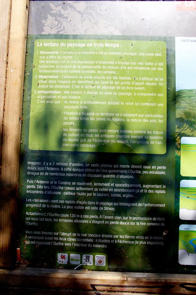 La Roche aux Faucons - Imaginez, il y a 2 millions d'années ... - Photo: M.Defour ©