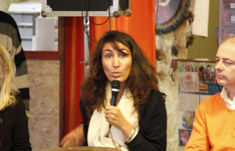 Christie Morreale, tête de liste PS aux communales 2012