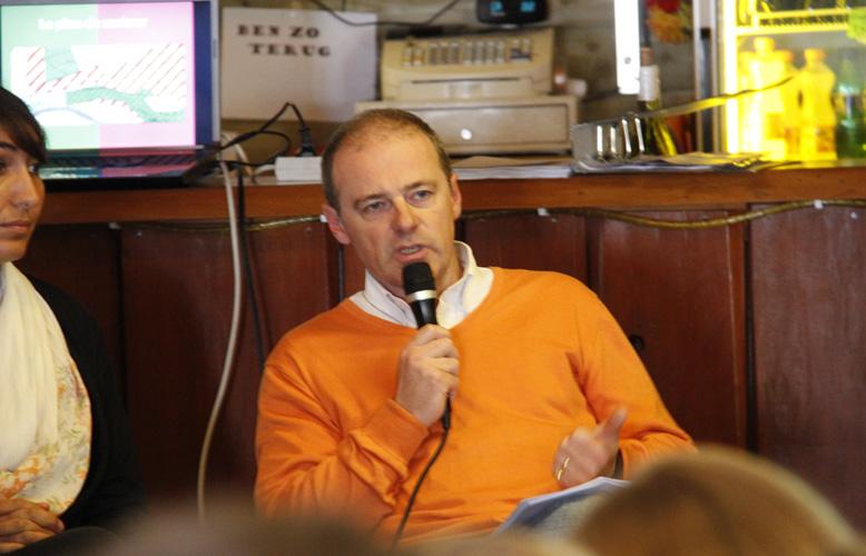 Philippe Lamalle, chef de groupe CDH aux communales 2012